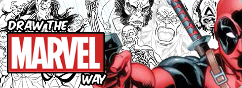 click to view Draw The Marvel Way